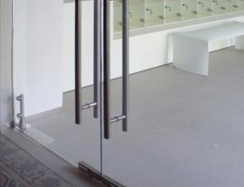 Celosklené dvere