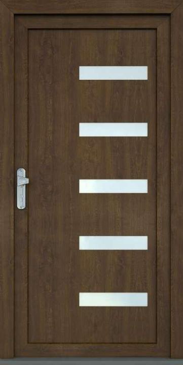 Ozdobná výplň vchodových dverí